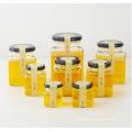 OEM Großhandel Quaderglas Marmelade Jar Honig Gläser mit Deckel 50ml 80ml 100ml 200ml 280ml 380ml 500ml 730ml