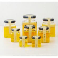 OEM en gros Cuboid Glass Jam Jar Jarres à miel avec couvercle 50ml 80ml 100ml 200ml 280ml 380ml 500ml 730ml