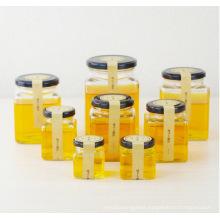 OEM Wholesale Cuboid Glass Jam Jar Honey Jars with Lid 50ml 80ml 100ml 200ml 280ml 380ml 500ml 730ml