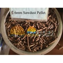 Melhor Venda na Tailândia Sago Palm Bark Pellet Linha de Produção