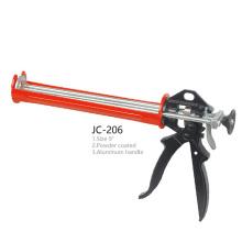 JC-206 Silicone Sealant Cylinder PNEU Gun Aluminum Handle Caulking Gun