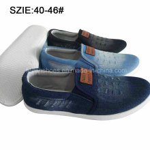New Style Fashion Men′s Slip on Injection Casual Jean Shoes (MP16721-11)