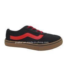 Zapatillas clásicas de inyección de skate de hombre de lona de fábrica (J2608-M)