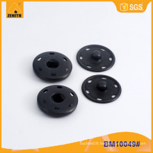 Brass Sew on Metal Press Buttons BM10049