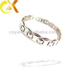 China-Großhandels-Edelstahl-Schmucksache-Männer Kettenglied glänzendes Armband
