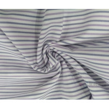 Stripe Plain Polister Fabric
