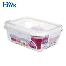 Caixa de armazenamento de vidro de borosilicato alto Lfgb