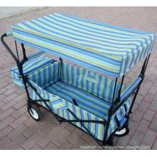 Складной утилита Wagon с навесом для детей