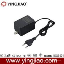 15W переменного тока адаптер коаксиальный питания постоянного тока с CE