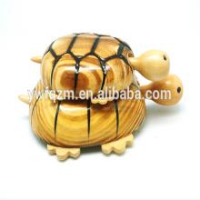 jouet en bois animal en bois mère enfant tortue