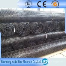 Construction standard de Buliding du plastique ASTM biaxial de Geogrid de fibre de verre pour la construction de routes
