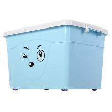 Netter Gesichtsausdruck Plastikaufbewahrungsbehälter für Lagerung