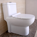 one Piece Washdown /siphonic Toilet Factory S/P Trap UF /PP Soft Closing Cover toilet tank toilet chair s-trap toilet ET211