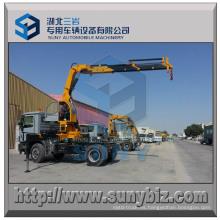 Grúa de camión con pluma articulada de 10000 Kg