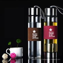 thé infuseur bouteille tasse à thé portable bouteille d'eau joyshakerr avec filtre