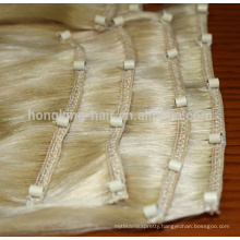 factory price micro beads weft hair extensions