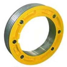 Polea de tracción para OTIS Gearless Machine 400mm / 410mm / 480mm