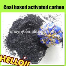 Carvão ativado a base de carvão granulado de 8x30 mesh para planta de tratamento de água