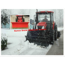 Cuchilla de empuje de nieve