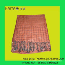 fashion viscose scarf for young ladies favor with jacquard style