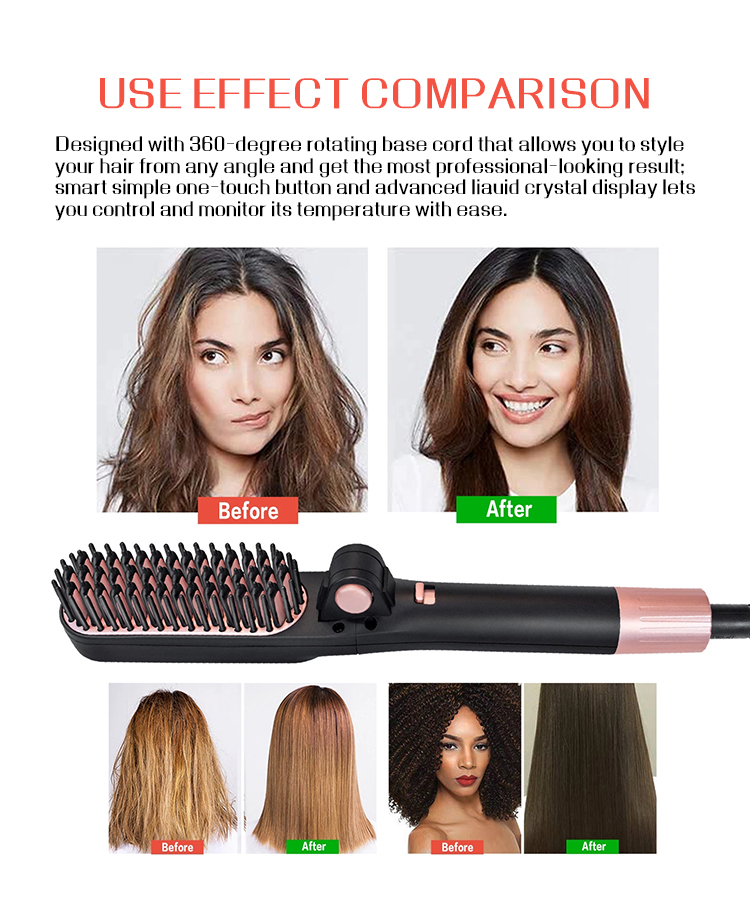 what's the best hair straightener brush