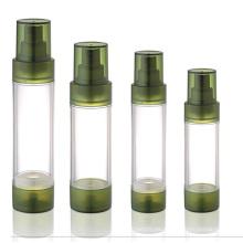 Botellas sin aire para el empaque cosmético
