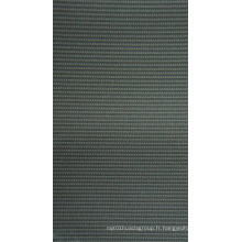 Oxford raye le tissu de polyester de tonalité avec le revêtement de PVC
