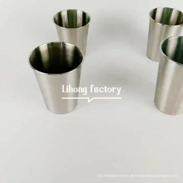 Beste Qualität Trinkbecher aus Edelstahl 304 / Wasser Tasse / Kaffeetasse