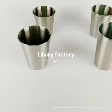 Best quality 304 stainless steel drinking cup/water cup/coffee mug