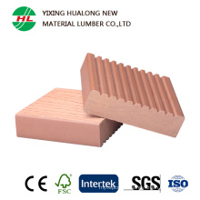Solid WPC Decking with High Quality (HLM55)