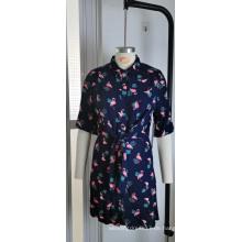 Großhandel New Fashion Frauen Plus Size Print Kleid