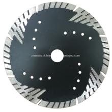 Lâmina de diamante turbo contínua protegida por raios especiais