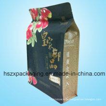 Aufstehen Plastic Packaging Zip-Lock-Reißverschluss-Tasche