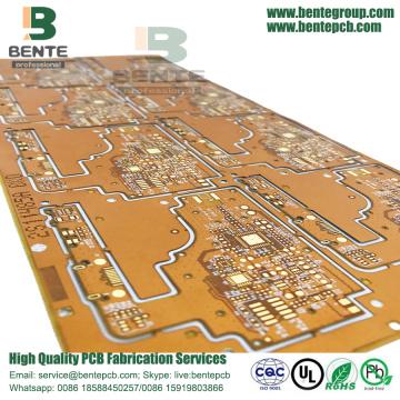 2Layers ENIG Flex Hybrid Board With Steel Sheet Stiffener
