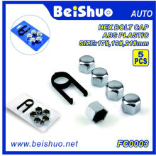 17mm/19mm/21mm Plastic ABS Wheel Bolt Cover Nut Cap for Universal