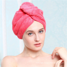 microfiber magic hair dry drying turban wrap towel
