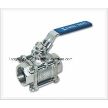 API Sw-NPT 3PC Ball Valve