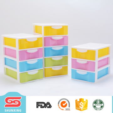 beautiful and colorful mini storage drawers for storage small sundries