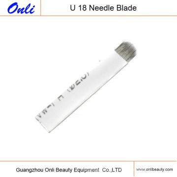 Flex U 18 Blades Microblading Agujas Cuchillas Tattoo Blades