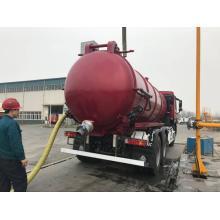 Camion d'aspiration des eaux usées de pompe à vide 18CBM