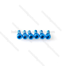 Fasteners High Precision M3*14mm Aluminum socket head cap screw