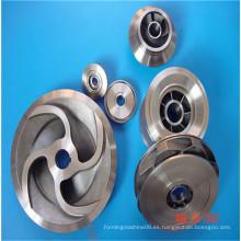 Rueda guía de fundición de precisión de acero al carbono