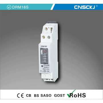 Model Single Phase Two Phase 50A 220V DIN Rail Meter