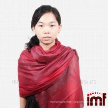 2014 100% New Style Cashmere Wire Embedded Scarves