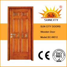 Calidad de puerta de madera de China