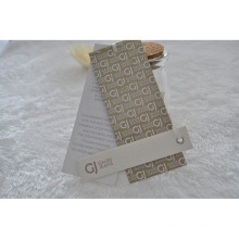 Three Pieces Tag with String for Apparel Fabric