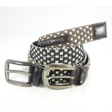 Newly-Designed Fashion Canvas-Leather Belt (EUBL0385-40)