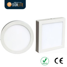Surface Mounting Installation Square or Round 6W/12W/18W/24W LED Downlight/LED Panel Light