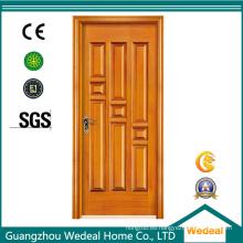 Puerta empotrada de MDF interior de madera maciza para proyectos