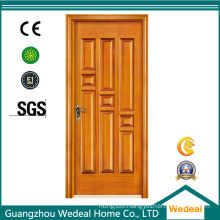 Solid Wood Interior MDF Flush Door for Projects